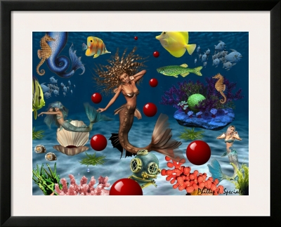 Mermaids and Red Balls